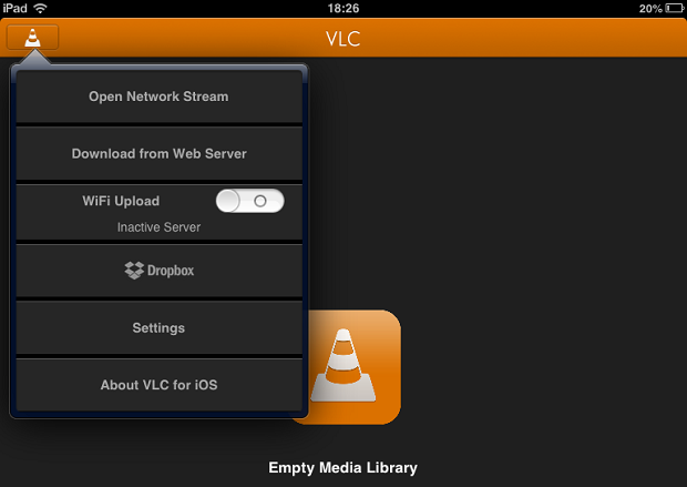 Saiba como assistir e a legendar o video no VLC para iPhone ou iPad