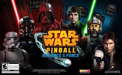 "Novo game ""Star Wars Pinball: Balance of the Force"" chega aos consoles e smartphones"