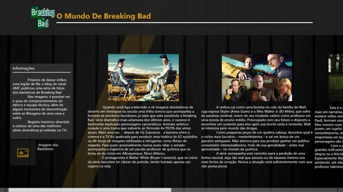 O Mundo de Breaking Bad